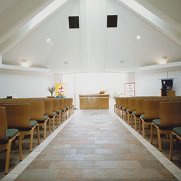 Interior of Rejoice Lutheran Church - Coppell, TX