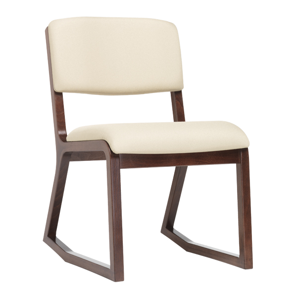 2-Position Chair with Upholstered Seat and Back